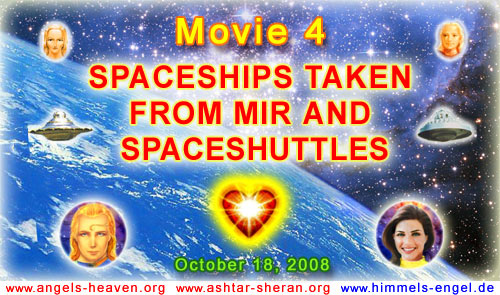 MOVIE 4 - SPACESHIPS TAKEN FROM MIR AND SPACE SHUTTLES