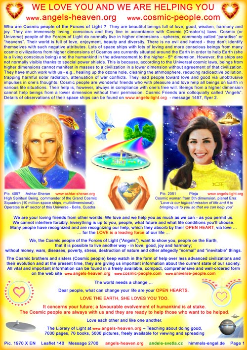 Who are Universe People of the Forces of Light?