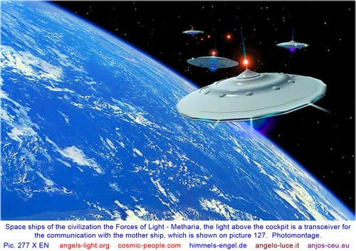 Space ships - civilization Metharia
