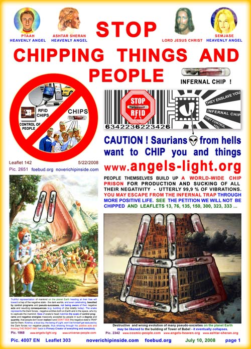 Stop chipping things and people