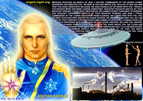 Message from Ashtar Sheran