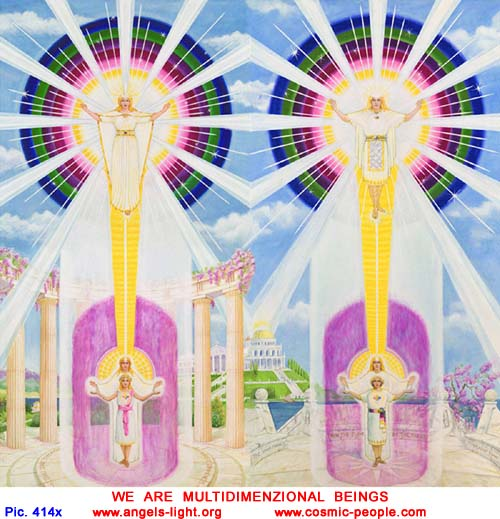 We are multi-dimensional beings