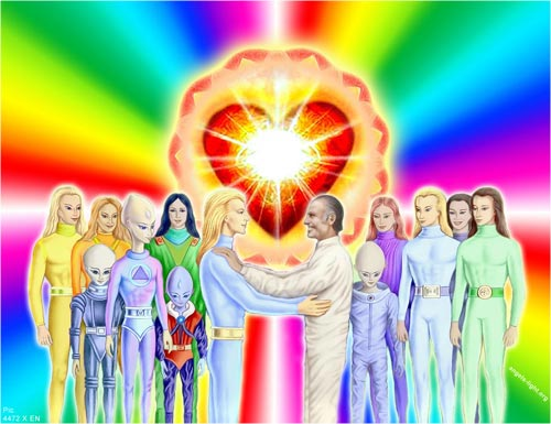 Heavenly Angels' friendship with Earth men
