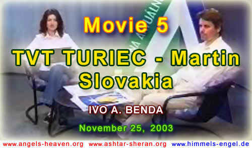 MOVIE 5 - TVT TURIEC - TV TALK WITH IVO A. BENDA, MARTIN, SLOVAKIA